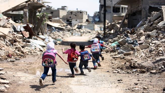 موارد مالية لا تؤهل لإعادة الإعمار في سوريا (فرانس برس)