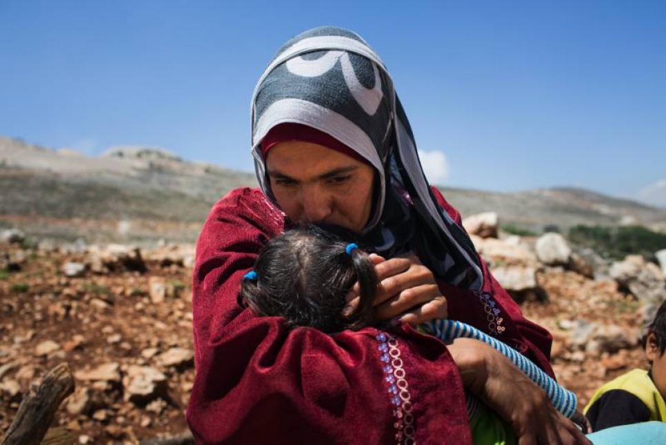 لاجئة سورية في لبنان UNHCR/A.McConnell