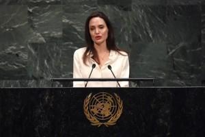 أنجلينا جولي في الأمم المتحدة