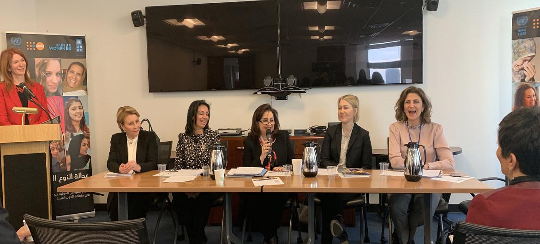منتدى على هامش أعمال الدورة الثالثة والستين للجنة الأمم المتحدة لوضع المرأة