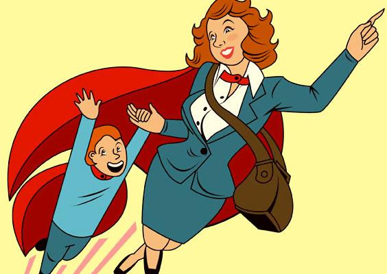 """""""ماما يا بطلة الكون"""""""