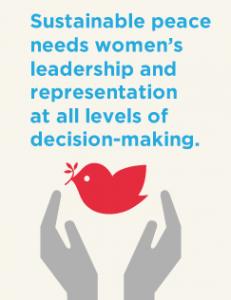 النساء وصناعة السلام