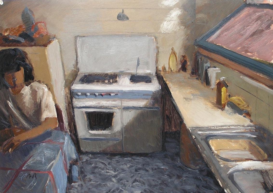 المطبخ؛ فن تشكيلي/ موقع (الجمهورية) الإلكتروني
