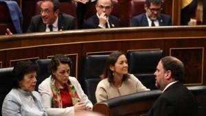جانب من إحدى جلسات البرلمان الإسباني
