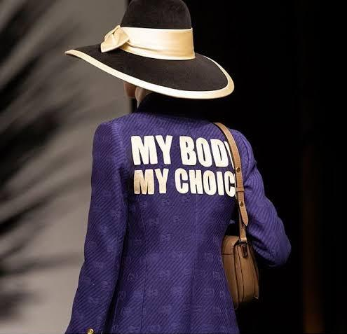 """غوتشي كروز 2020 عنوان وشعار """"جسدي اختياري"""""""