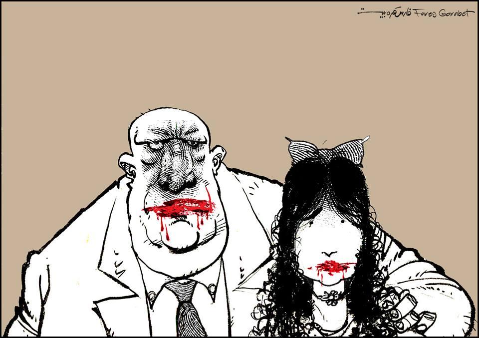 اللوحة للفنان: Fares Garabet