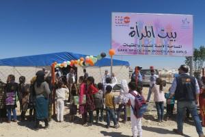"""مركز""""بيت المرأة"""" للمساحات الآمنة للنساء والفتيات في مخيم الهول"""