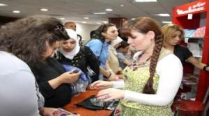 النساء السوريات يحترفن عالم التجارة/ جريدة تشرين