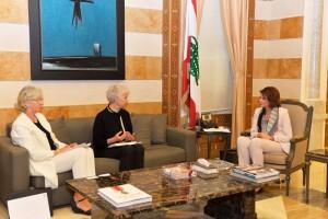 الحسن استقبلت وفد المبادرة النسوية الاورومتوسطية