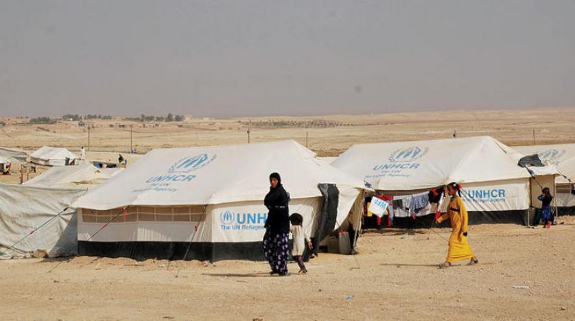 مخيم عين عيسى (شمال سوريا)