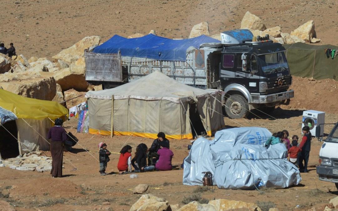 تزويج القاصرات السوريات في المخيمات اللبنانية