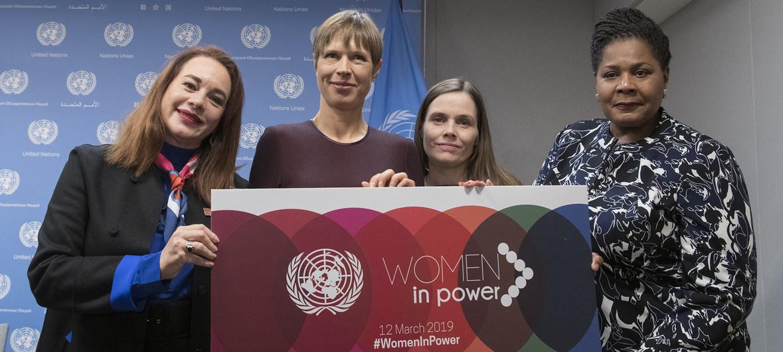 القيادة النسائية في الأمم المتحدة