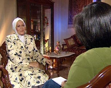 القاضية السورية غادة مراد/ قناة الجزيرة