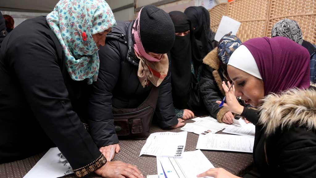 السوريات في سوق العمل التركي