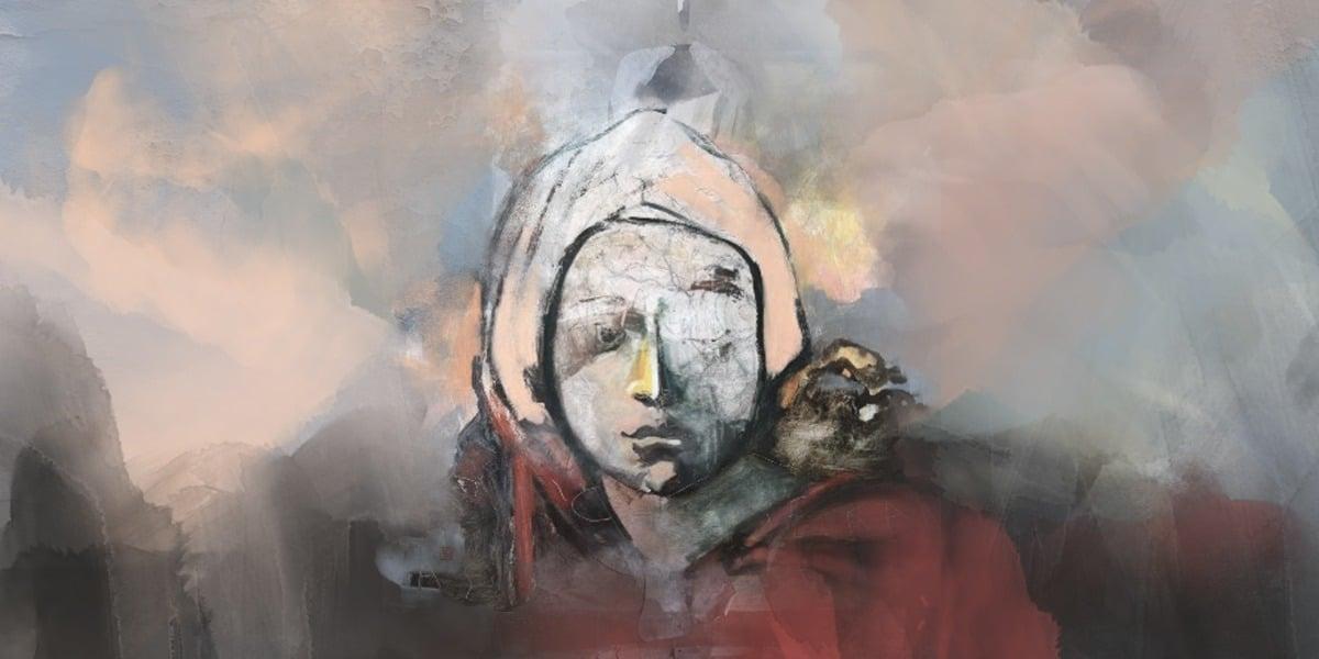 عمل للفنانة: ايدا جوركوفسكا