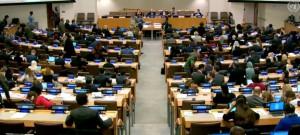 مداولات اللجنة الثالثة للجمعية العامة للأمم المتحدة المتخصصة في القضايا الاجتماعية والإنسانية والمتعلقة حقوق الإنسان