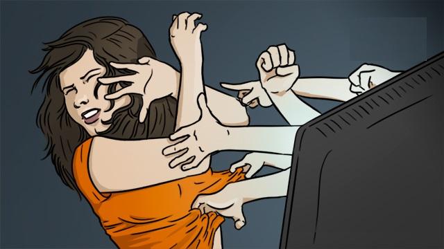 العنف الإلكتروني ضدّ المرأة