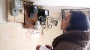 موظفات لقراءة عدادات الكهرباء في ريف دمشق (مصدر الصورة: سناك سوري)