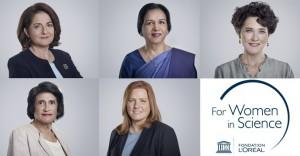 جائزة لوريال - اليونسكو للنساء في مجال العلوم 2020