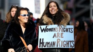 حقوق المرأة هي حقوق الانسان
