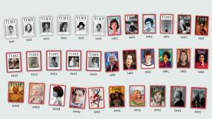 مجلة «التايم» تعيد إنتاج أغلفة «شخصية العام» على مدار قرن.. وتقصرها على النساء