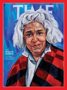 غلاف مجلة التايم عام 1981/ د. نوال السعداوي؛ شخصية العام النسائية