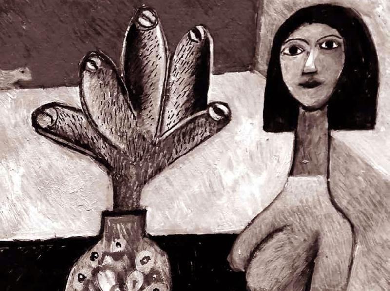 لوحة حسين جمعان
