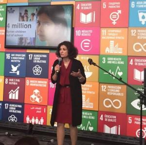 ماسة المفتي، رئيسة جمعية سنبلة للتعليم والتنمية