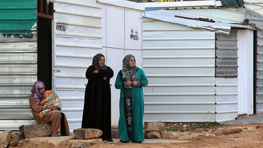 لاجئات سوريّات في مخيم الزعتري في الأردن (أرشيف: صلاح ملكاوي/ المملكة)