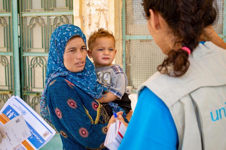 أكثر من 210 ألف طفل دون سن الخامسة في سوريا يحصلون على ما فاتهم من اللقاحات الروتينية