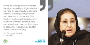 UN Women &  W20 organisations call on G20