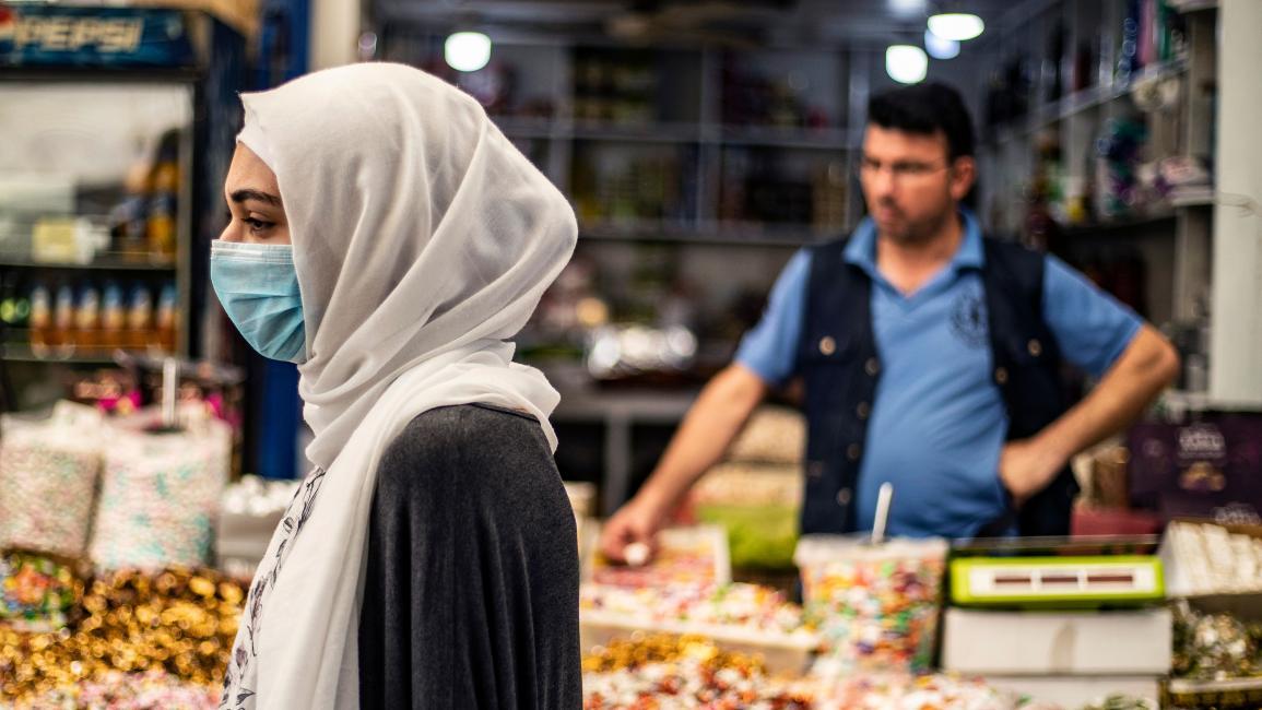 النساء في سورية اليوم هنّ من الفئات الهشة (دليل سليمان/ فرانس برس)