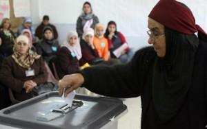 مشاركة المرأة الأردنية في الانتخابات