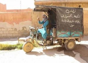 سيدة سورية تتحدى المجتمع بعمل كان حكراً على الرجال