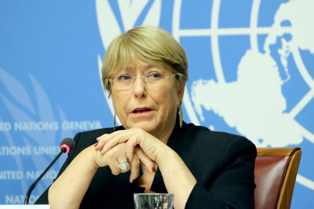 ميشيل باشيليت، المفوضة السامية لحقوق الإنسان
