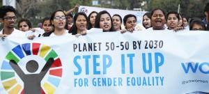 بالرغم من أن النساء قطعن شوطا طويلا منذ اعتماد منهاج عمل بيجين قبل حوالي 25 عاما، فإنهن ما زلن يتخلفن تقريبا عن أي هدف من أهداف التنمية المستدامة.