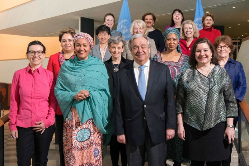 Gender Parity was achieved in the top leadership of the United Nations 2018