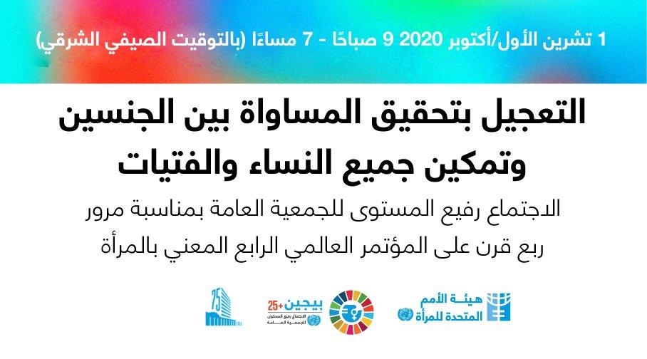 الدول العربية تؤكّد التزامها إزاء تمكين المرأة