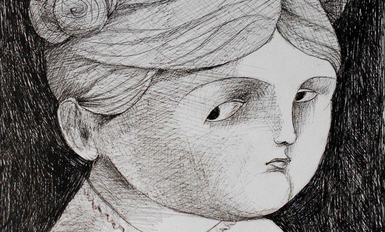 """لوحة للفنانة """"آني كوركدجيان"""""""