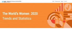 The World's Women 2020 Trends and Statistics