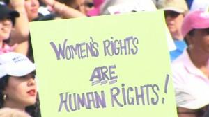 حقوق المرأة هي حقوق الإنسان