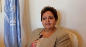 القاضية المغربية أمينة أفروخي