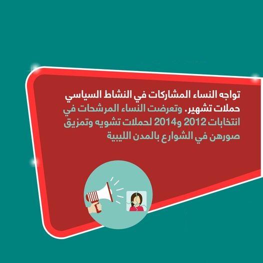 المشاركة السياسية للمرأة الليبية