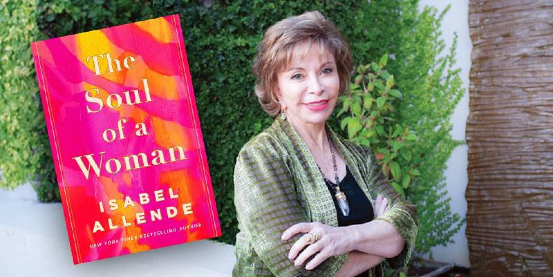 كتاب «روح امرأة»، الكاتبة التشيلية إيزابيل الليندي