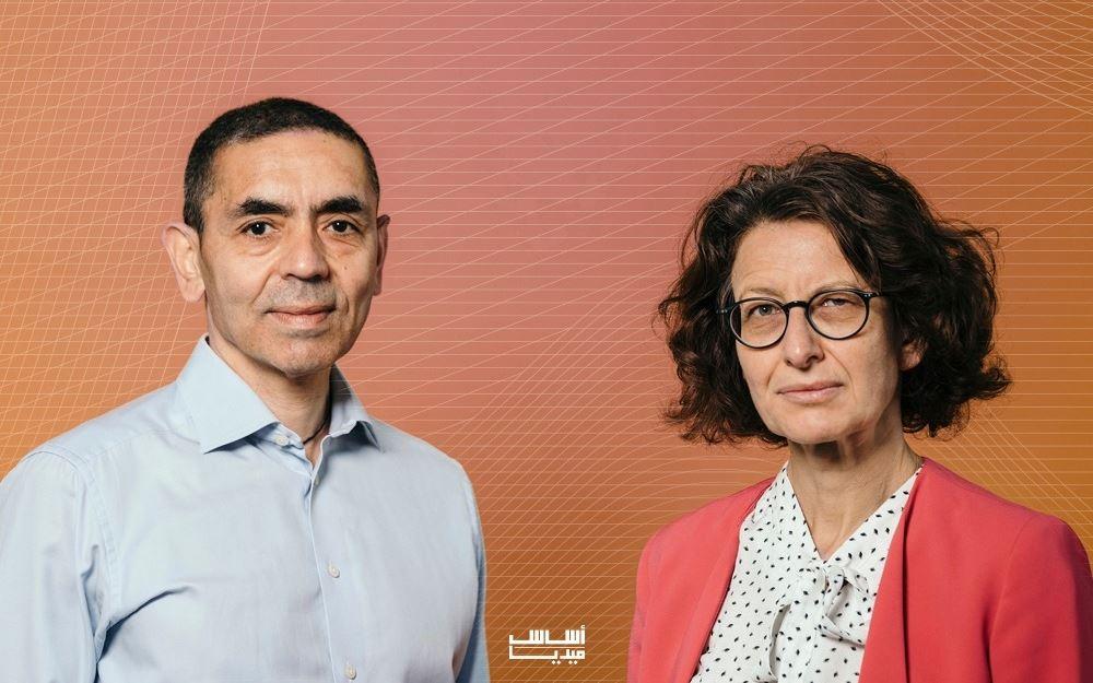 الطبيبان الثنائي التركي الأصل من ألمانيا، أوغور شاهين (55 عاما) وزوجته أوزليم تورجي (53 عاما)
