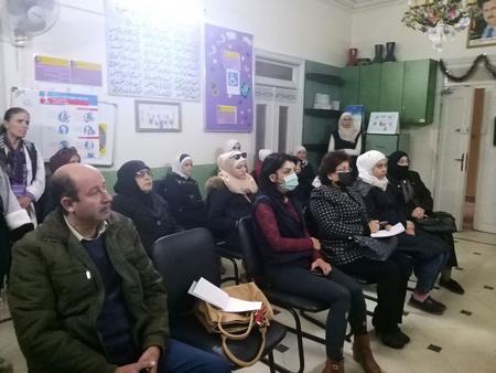 لقاء مجتمعي أقامته جمعية تنظيم الأسرة السورية