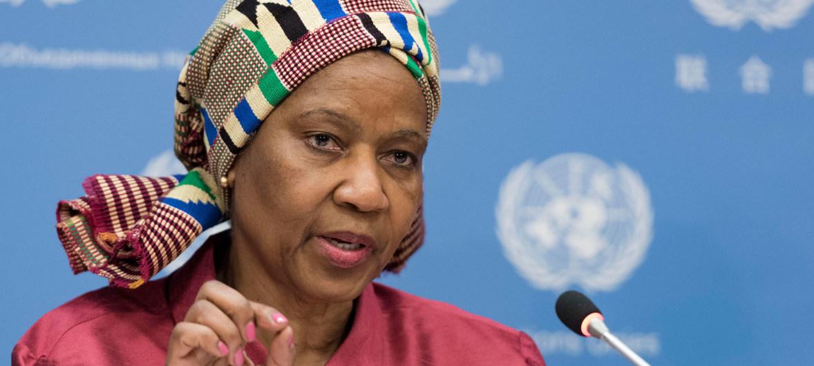 بومزيلي ملامبو - نوكا، المديرة التنفيذية لهيئة الأمم المتحدة للمرأة