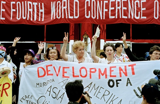 women's health 25 years after the Beijing Platform for Action on Women