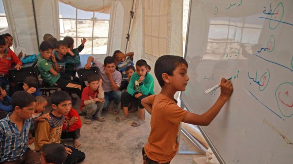 نصف أطفال سوريا محرومون من التعليم