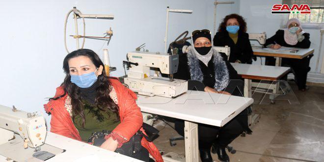 مشروع (دعم اقتصاديات الأسرة العاملة) في اللاذقية